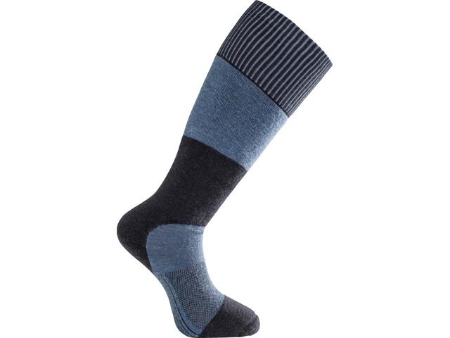 Woolpower Skilled Knee High 400 Socken dark navy/nordic blue